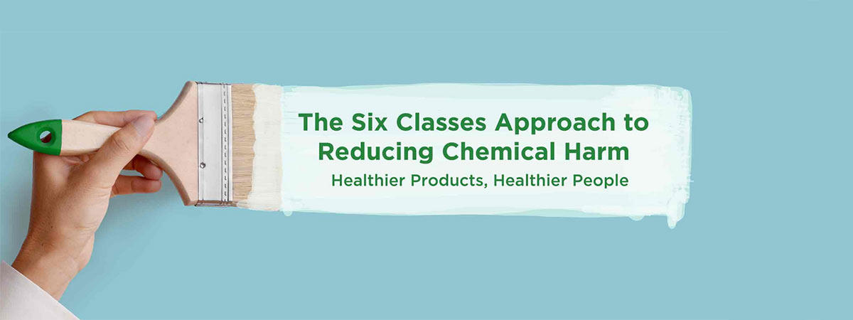 Six classes of chemicals of concern