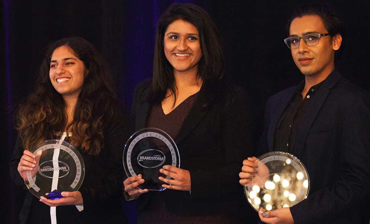 Shivya Bansal (CBE), Aniket Majumdar (Comp Sci/ Economics), Netra Sathe (CBE)
