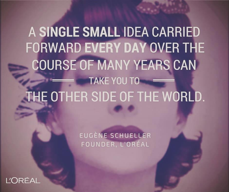L'Oreal founder quote