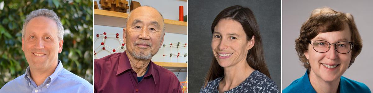 Allen Goldstein, Sung-Hou Kim and Katherine Yelick