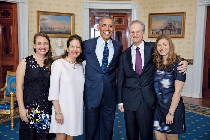 Paul Alivisatos and family