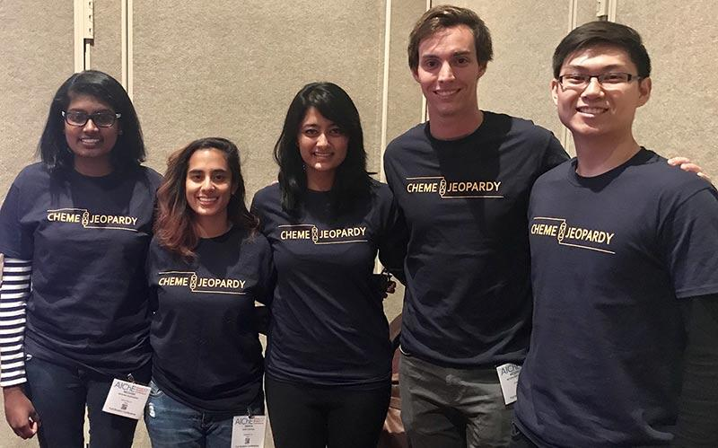 Meghna Rajendran, Sanya Sehgal, Rajashree Bhattavharya, Mcgregor Stadmiller, and Richard Lin