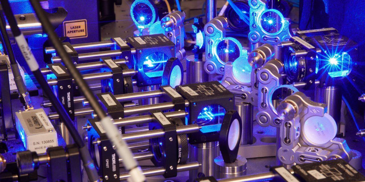 Illustration of quantum computer