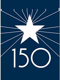 Berkeley 150 Anniversary logo
