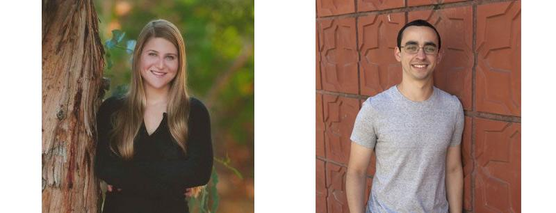 Caroline Wilcox and Bernardo Gouveia