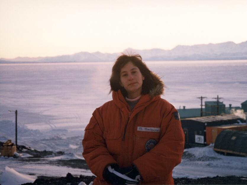 Susan Solomon, Antartica, 1986