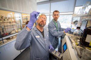 Brett Helms at Berkeley Lab