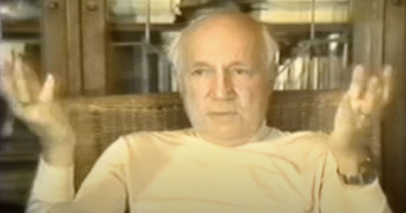Melvin Calvin interview with Clarence Larson