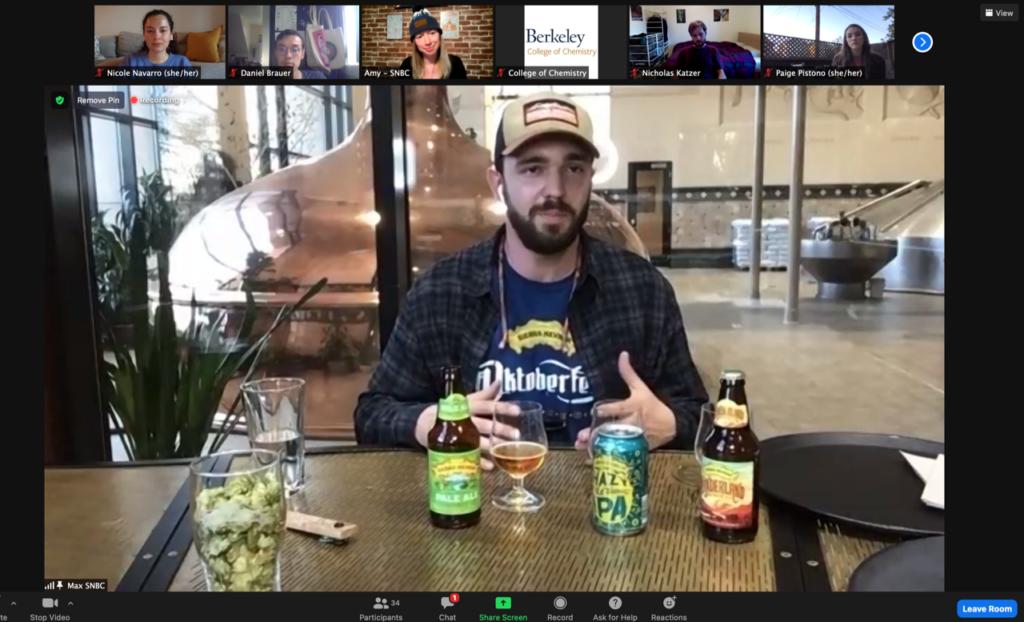 Sierra Nevada rep discusses beer samples