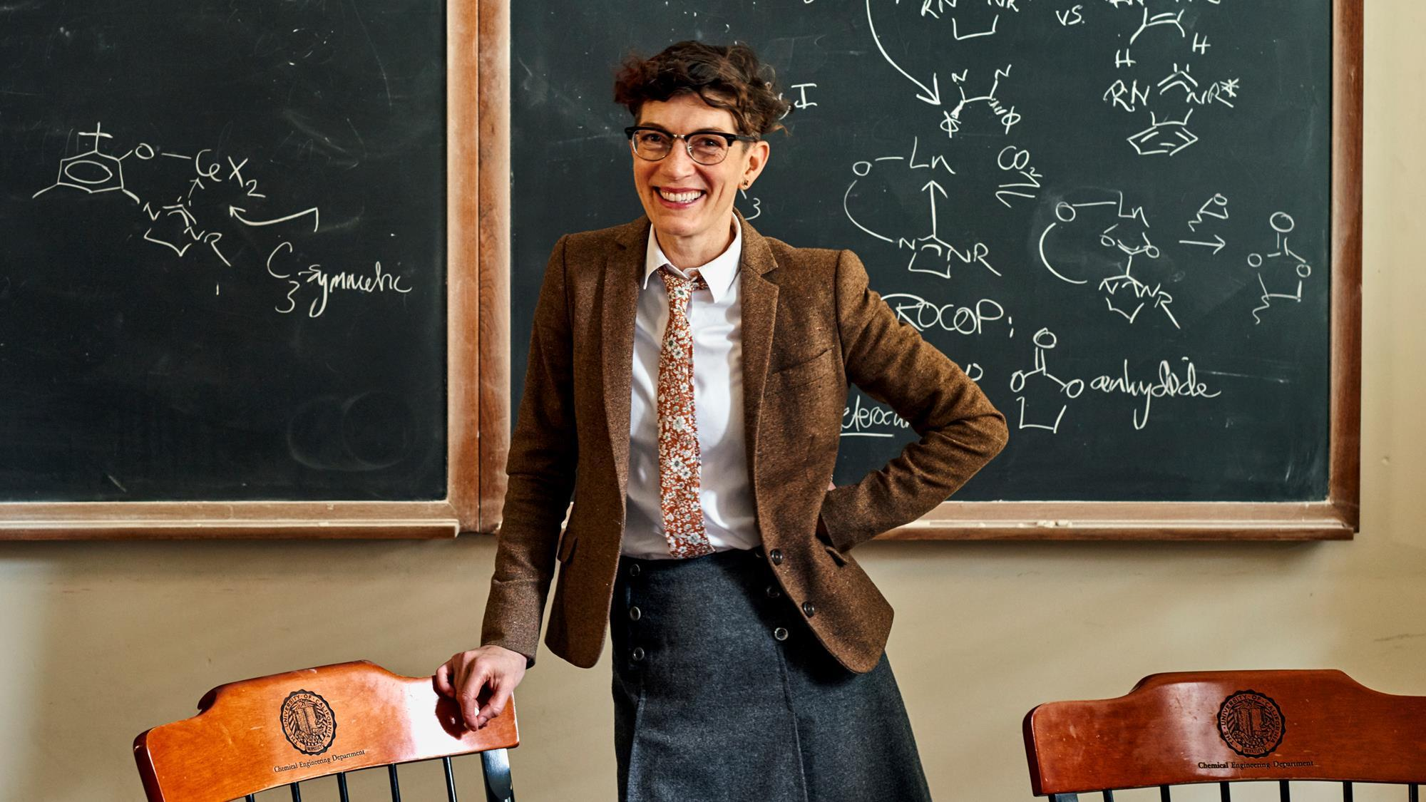 Polly Arnold. Photo courtesy Chemistry World, Carlos Chavarra.