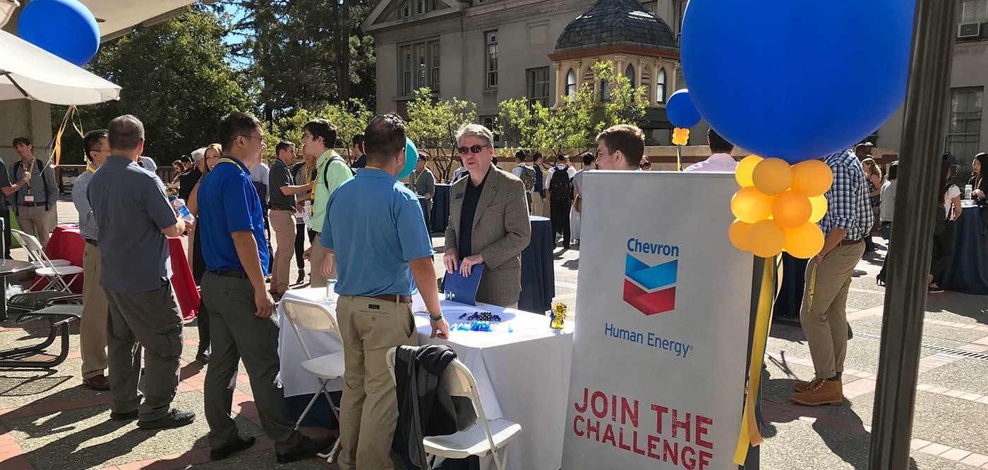 ChemX Conference Networking Event on the Chemistry Plaza
