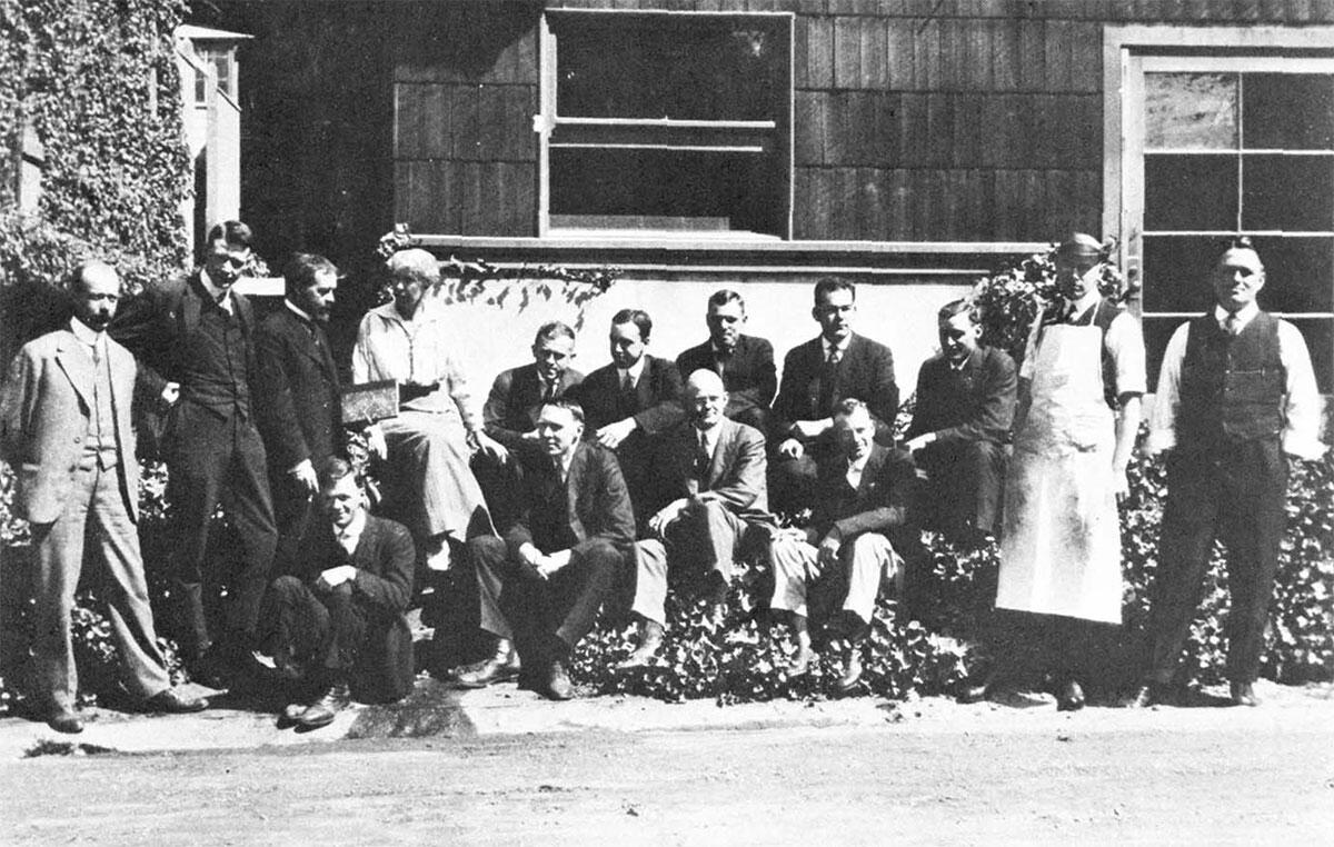 College of Chemistry Faculty, 1917