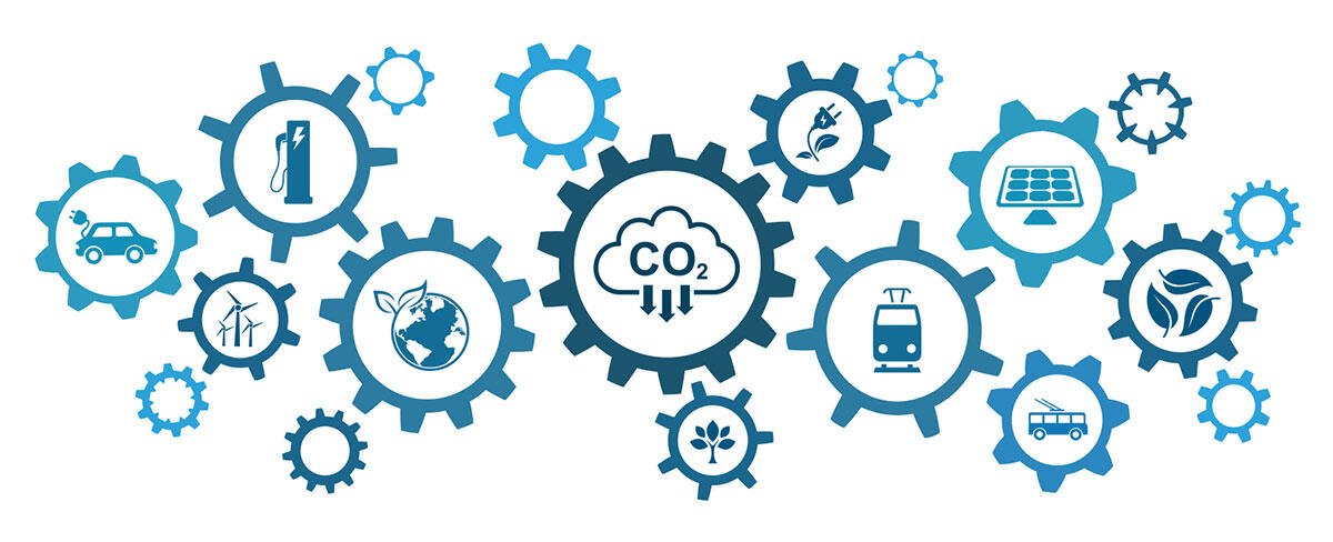 Energy innovation utilizing carbon dioxide, air, and water