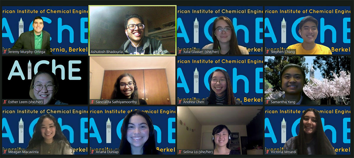 2019-2020 executive board AIChE student chapter
