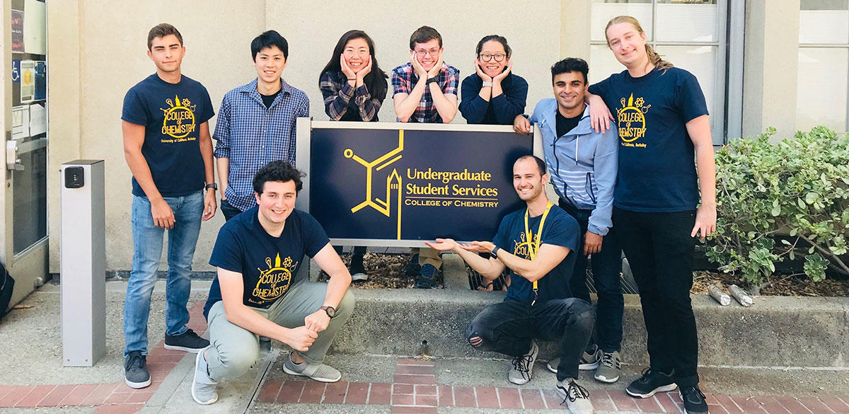 Fall 2018 Chemistry Peer Tutors