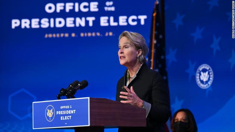 Frances Arnold speaks at announcement ceremony