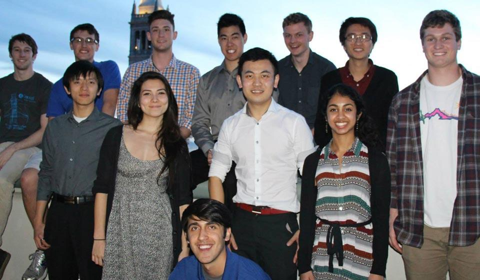 Berkeley AIChE student chapter officers