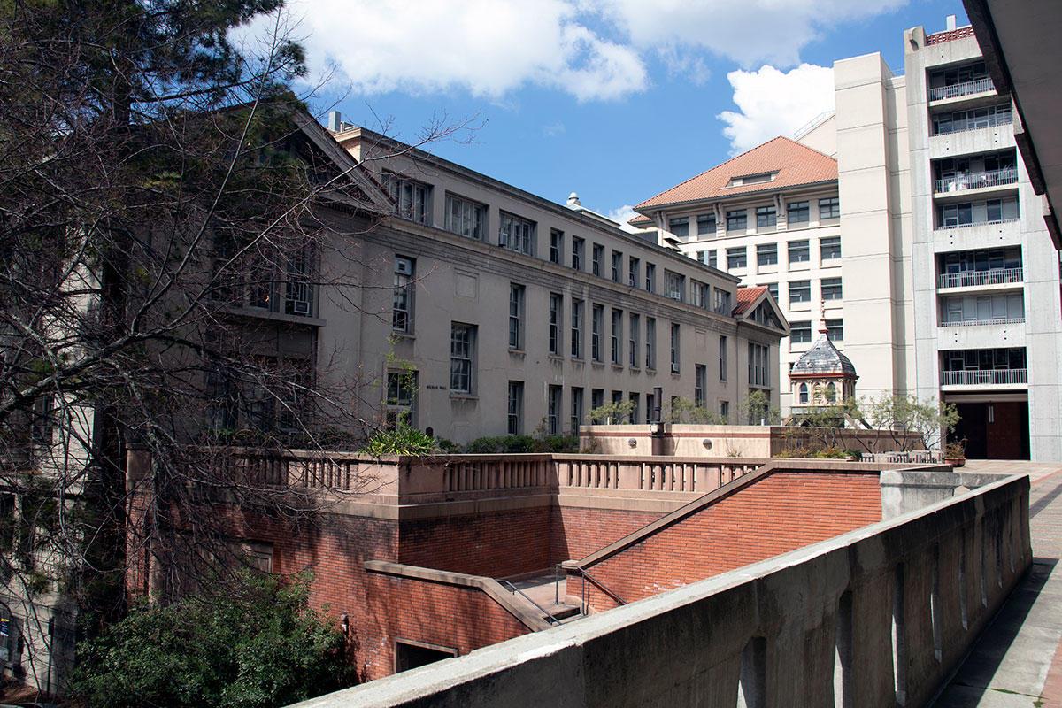Gilman Hall, UC Berkeley, home of chemical engineering