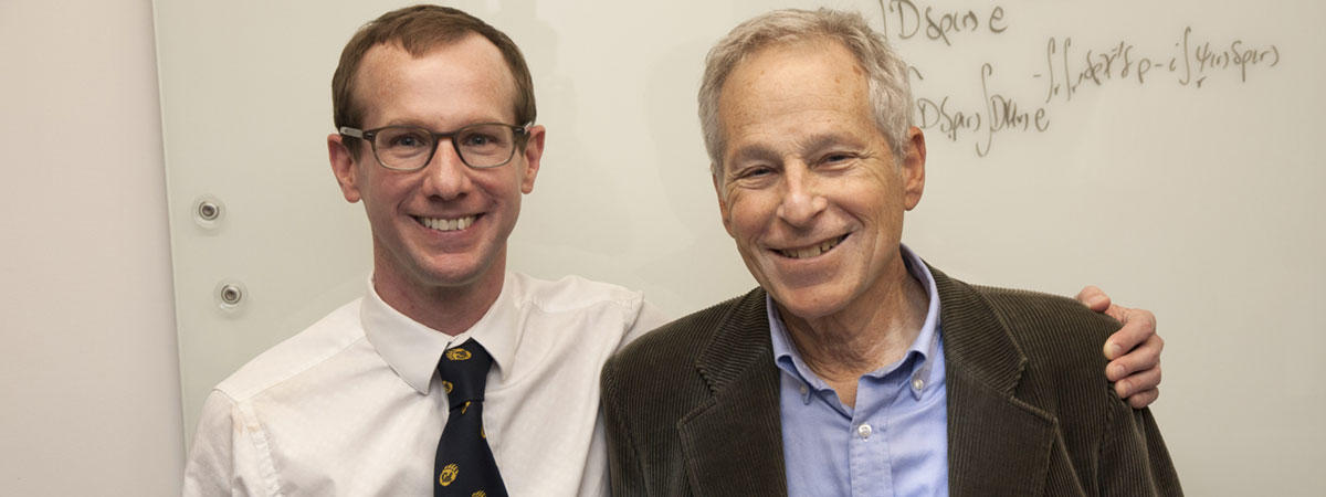 Prof. Philip Geissler and the late Prof. David Chandler