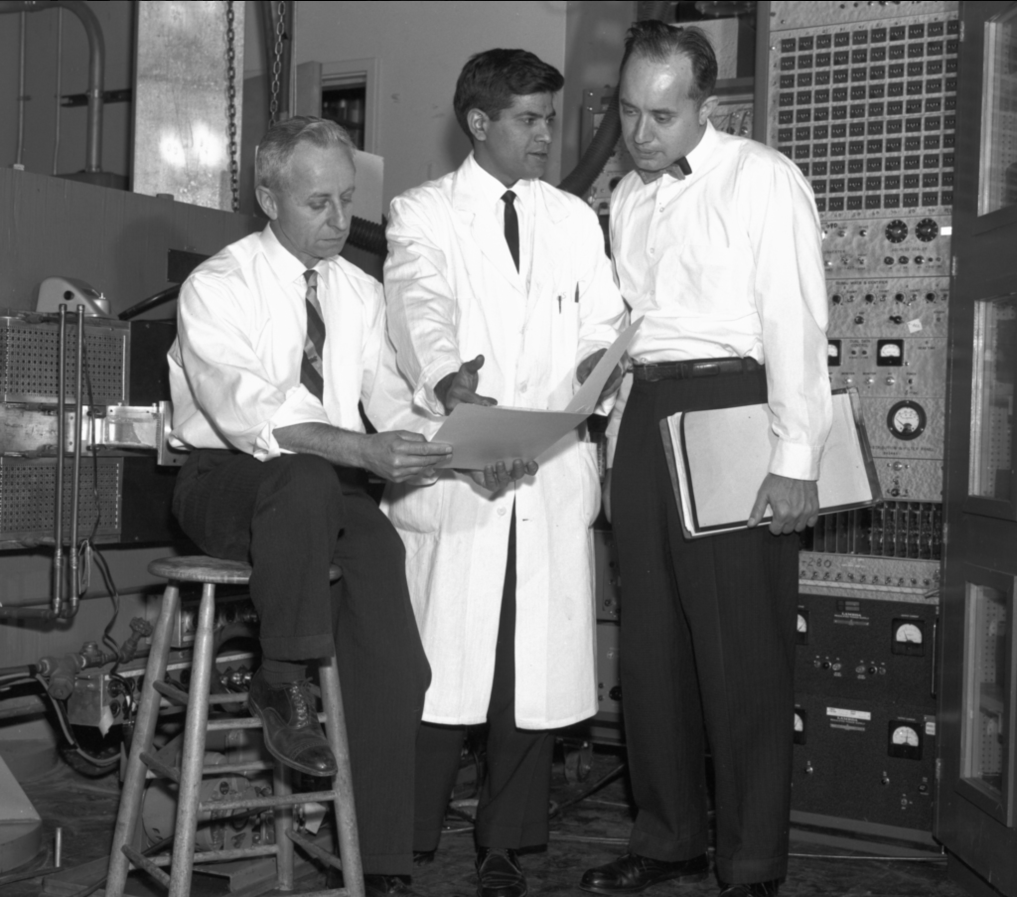 Isadore Perlman (left) Frank Asaro (right) Berkeley Lab