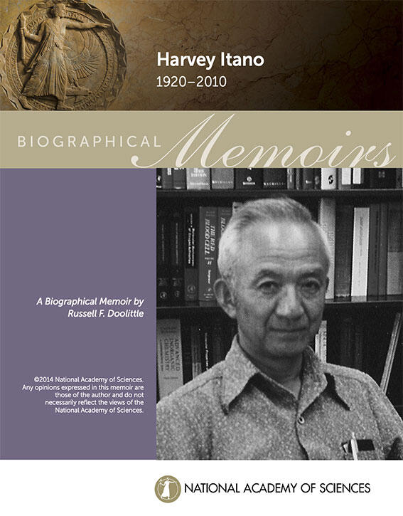 Itano Biography, National Academy of Science