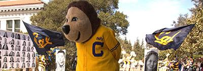 Oski the UC Berkeley mascot
