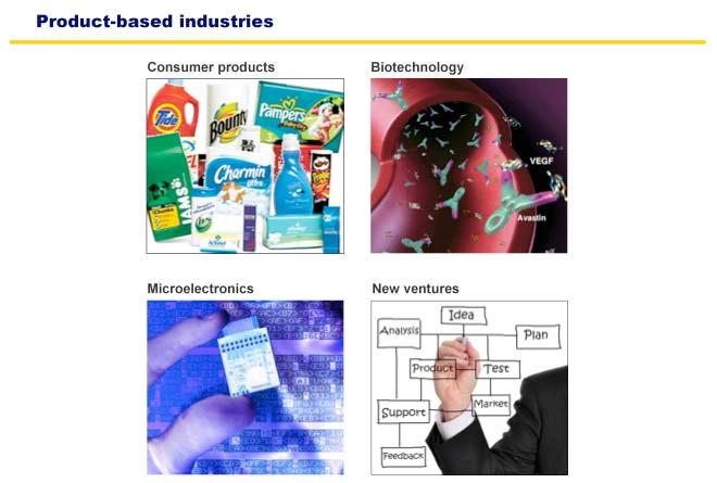Product based industries
