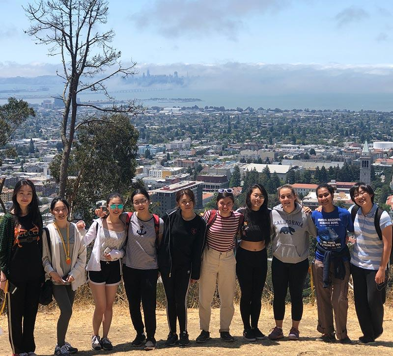 SYIP 2018 Members at Lawrence Berkeley National Laboratory