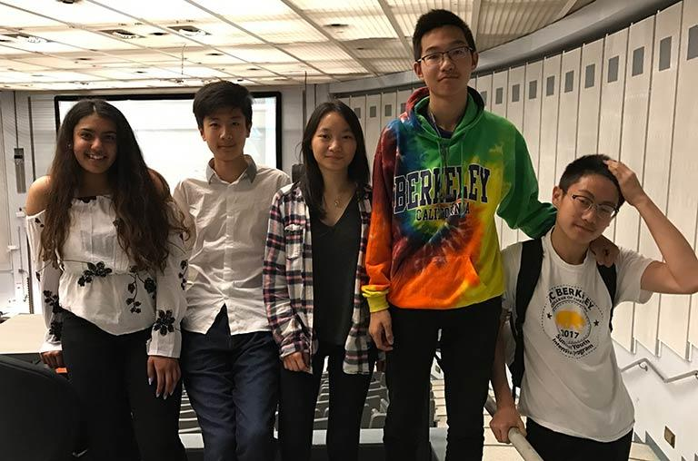 SYIP students