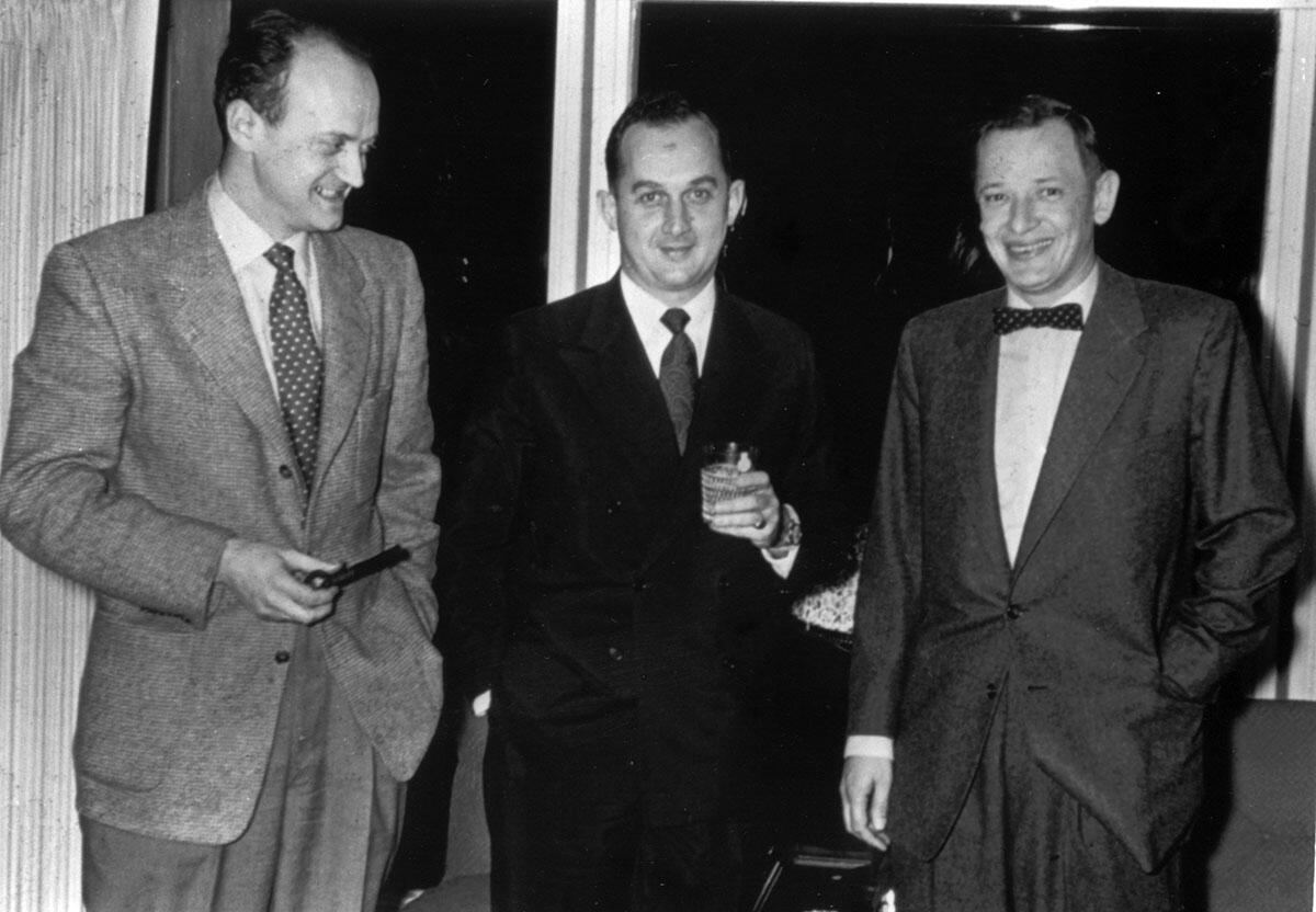 Charles Tobias, Campbell Williams, and Donald Hanson