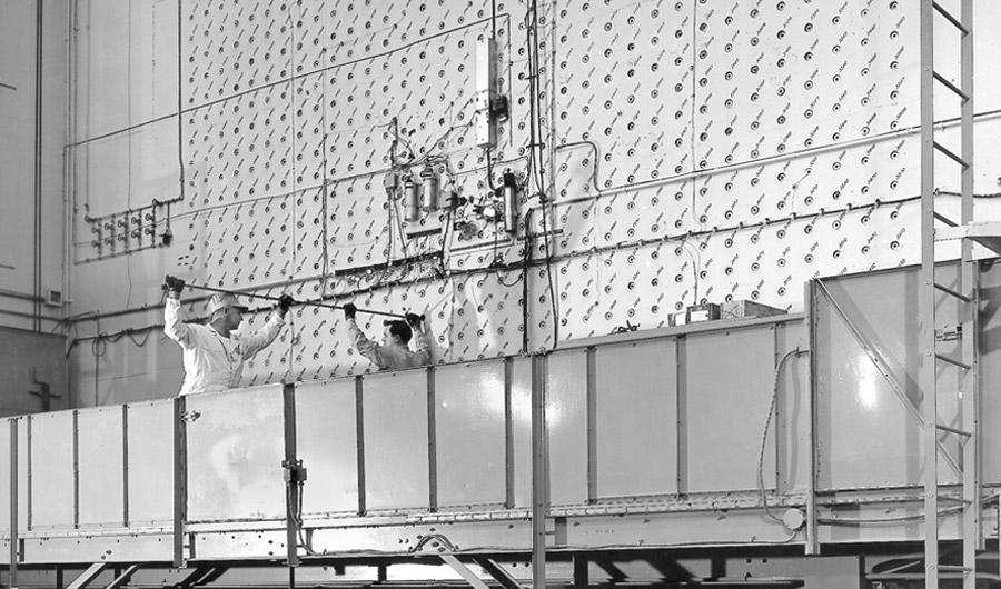 X-10 Reactor at Oak Ridge, Tenn, WWII