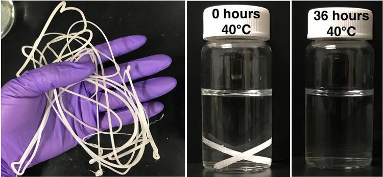Plastic degradation example