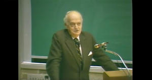 Charles Tobias lecture