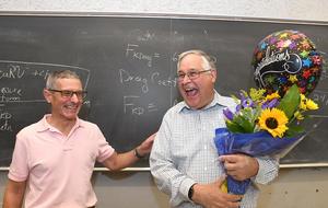 Clayton Radke wins Faculty GSI Mentorship award