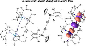 Re-Zn-Zn-Re molecule