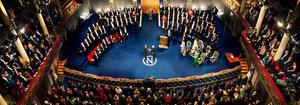 Nobel Laureate ceremony December 10th