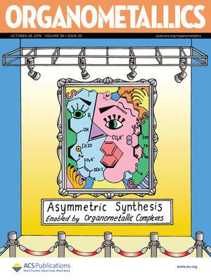 Cover Organometallic magazine published by ACS