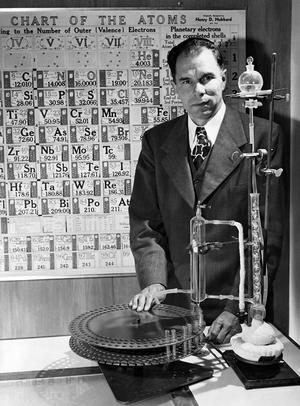 Seaborg in the lab