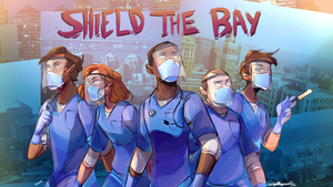 shield the. bay