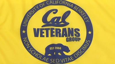 UC Berkeley Veterans flag