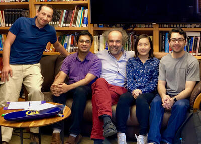 Ashok Ajoy, Dieter Suter, and team