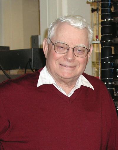 John Prausnitz photographed at home 2019