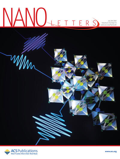 Nano letters cover art from the lab of Michael Zuerch