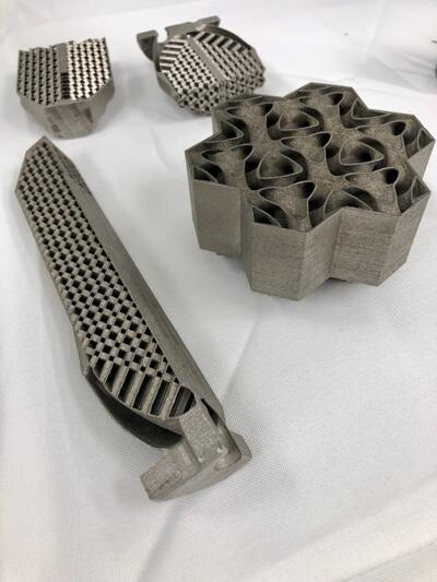 printed parts for new air2water system