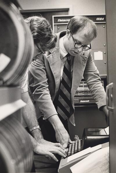 Henry Frederick Schaefer III working