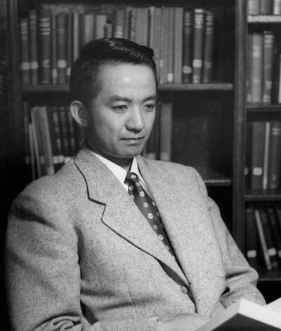 Harvey Itano at CalTech in 1954
